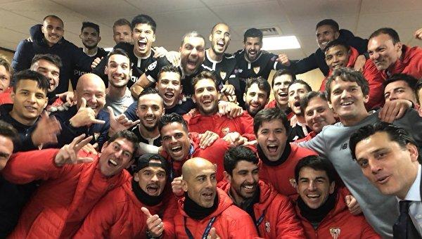 Севилья выбила Манчестер Юнайтед из Лиги чемпионов