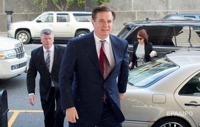 Суд у Вашингтоні заарештував Манафорта