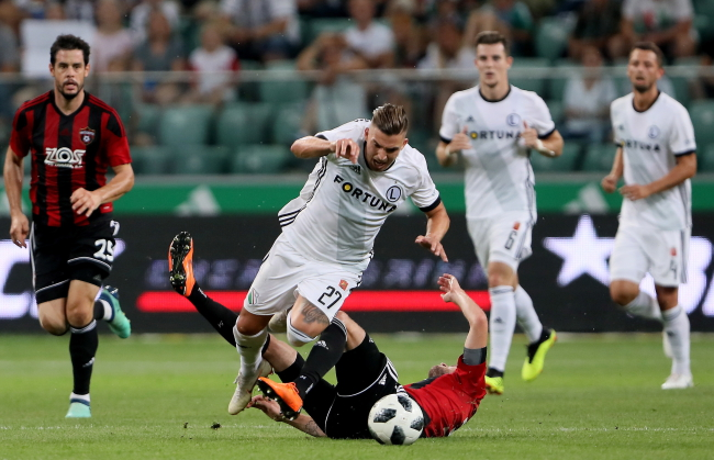 Champions League qualifiers: Legia Warsaw 0-2 Spartak Trnava