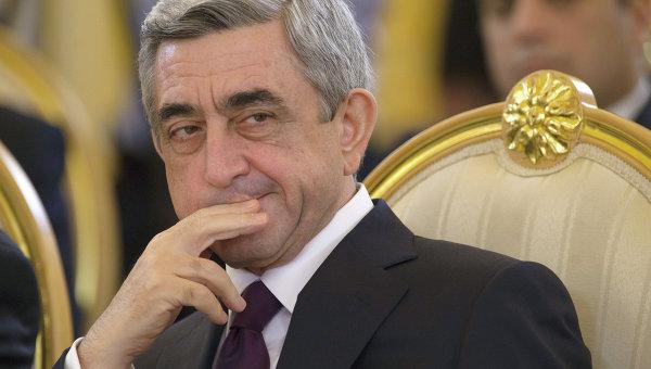 Я ошибся. Саргсян подал в отставку с поста премьера Армении