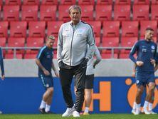 Козак тренировал сборную с июля 2013 года