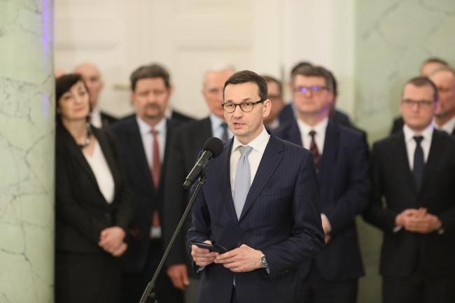 Прем'єр Моравєцький вирушає у свою першу закордонну поїздку
