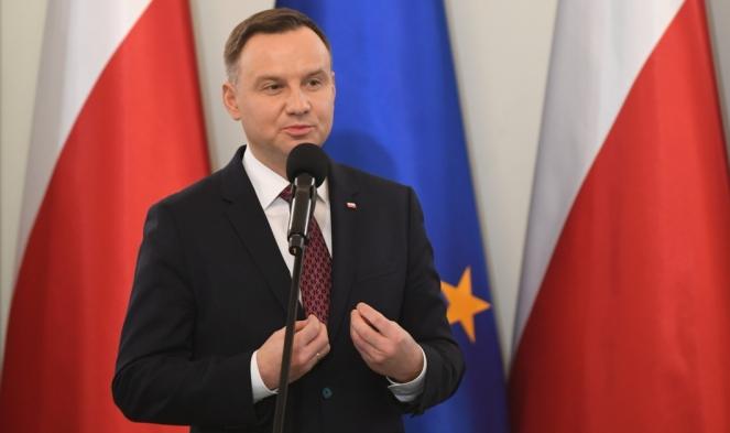 Дуда: Хто голосує проти Польщі, не має права називатися польським євродепутатом