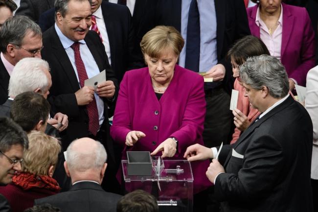 Канцлер Германии выступила с экспозе