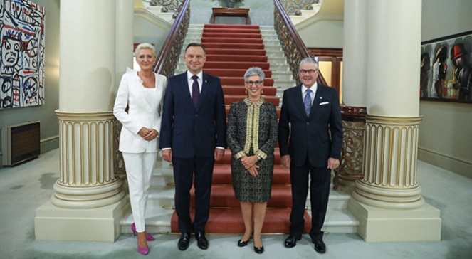 Начался визит президента Польши в Австралию и Новую Зеландию