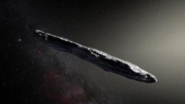 Ученые из NASA впервые обнаружили в Солнечной системе межзвездный астероид