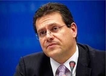 Шефчович виступить на конференції в Брюсселі щодо реформи українського ринку електроенергії
