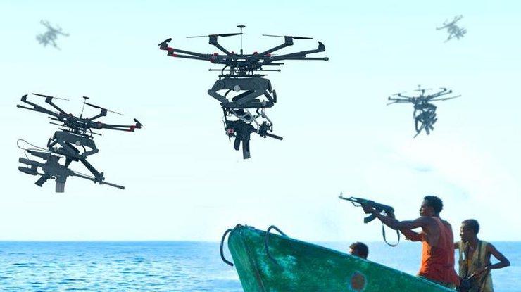 В Израиле создали дрон с боевым оружием (видео)