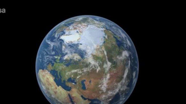 Гигантская озоновая дыра образовалась над Антарктидой (видео)