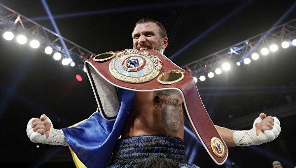 Украинец Василий Ломаченко признан лучшим боксером мира