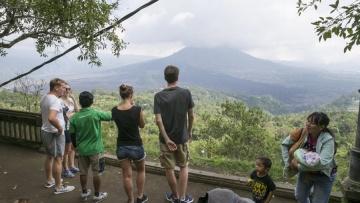 На Бали снова произошло извержение вулкана Агунг