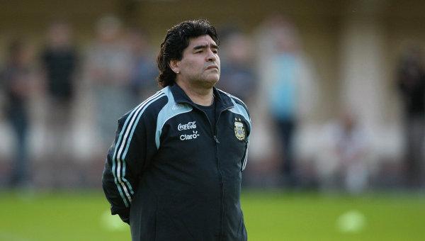 Марадона попросил Роналду не шутить о лучшем футболисте в истории