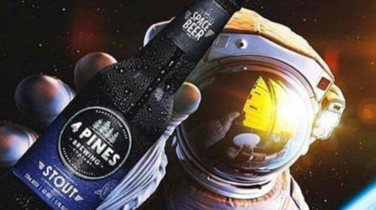 Космонавты смогут насладиться вкусом пива из бутылки