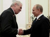 Президент Чехии заявил, что по итогам его встречи с Путиным будут подписаны контракты на 20 миллиардов долларов