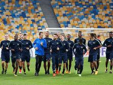 Футболисты Янг Бойз уже провели тренировку на НСК Олимпийский