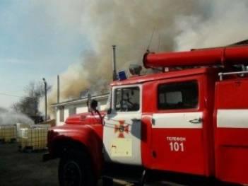 Под Киевом сгорела баня на территории комплекса Матрешка