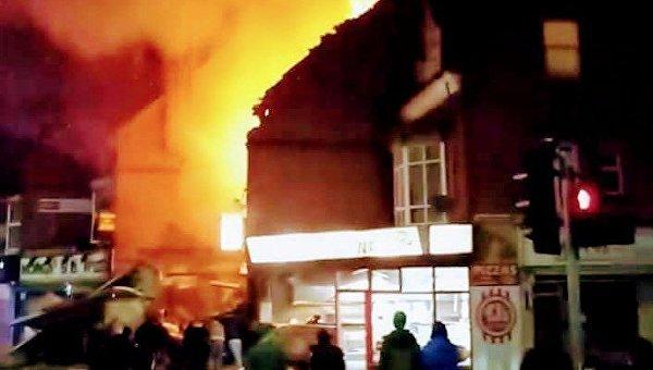 В английском Лестере прогремел сильный взрыв - СМИ