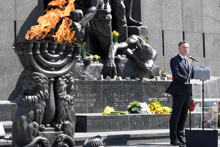 Warsaw marks Warsaw Ghetto Uprising anniversary
