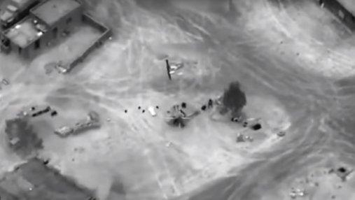 Авиаудар по наемниках Вагнера в Сирии: СМИ показали видео