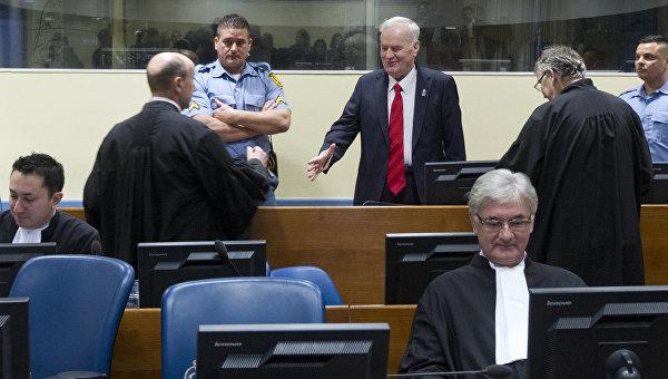 Генералу Младичу дали пожизненное за преступления в Боснии