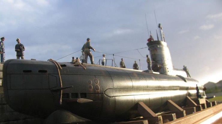 Немцы запустили двигатель гитлеровской субмарины (видео)
