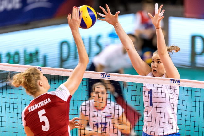 Women's volleyball: Poland crushed Russia 3-0 in Nations League