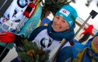 Украинская биатлонистка выиграла медаль Кубка мира
