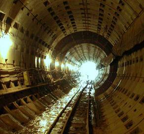 В киевском метро поймали диггера