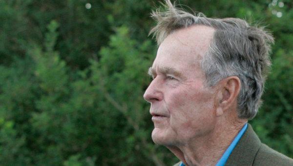Буш-старший госпитализирован с инфекцией