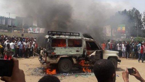 Взрыв в Эфиопии: количество пострадавших возросло до 154 человек
