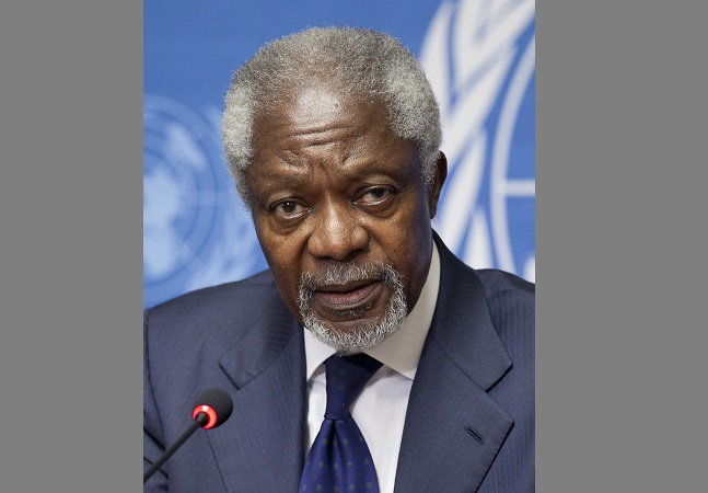 Polish president sends condolences after Kofi Annan death