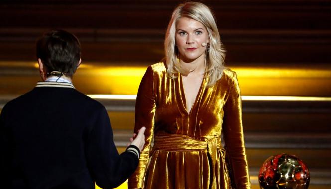 Золотой мяч вручили лучшей футболистке, а ведущего церемонии обвинили в сексизме