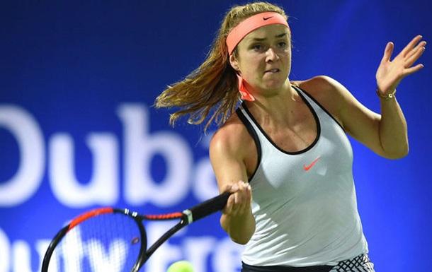 Свитолина второй раз подряд сыграет в финале Dubai Tennis Championships