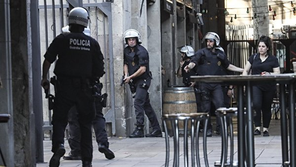 В Испании застрелили исполнителя теракта в Барселоне