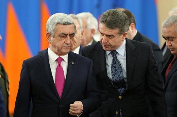 Саргсян ушел, но режим правит пишет Сюзан Джагинян